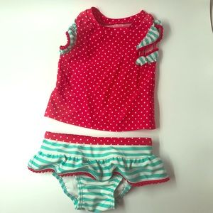9m two piece swim